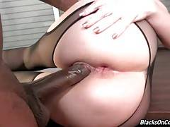 Kiki Daire Gets Double Penetrated By Black Guys 3