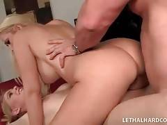 Slutty Mother And Daughter Enjoy Hot Threesome 3