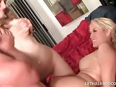 Sexy Girl Gets Drilled On Mother`s Eyes 2