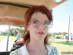 Lovely Milf Joslyn James Likes To Play Golf 2