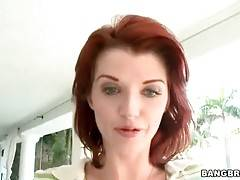 Redhead Milf Is Ready To Show All Her Charms 1