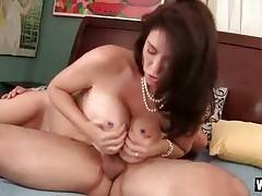 Breasted Lady Adores Good Cock Riding 1