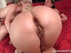 Pretty Milf And Young Girl Suck One Hard Dick 3